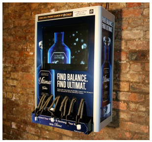 Wall Mounted Mobile Phone Charging Station