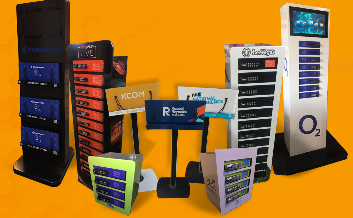 Chargezone Mobile phone charging station